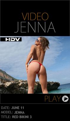PD – 2010-06-11 – Jenna Jones – Red Bikini 3 (Video) HD WMV 1280×720