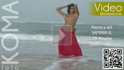 FK – 2013-09-06 – Samara R. – Arena y sol (Video) MP4 960×540